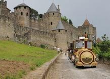 PETIT TRAIN DE LA CITE DE CARCASSONNE - Carcassonne