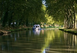 CANAL DU MIDI - Carcassonne