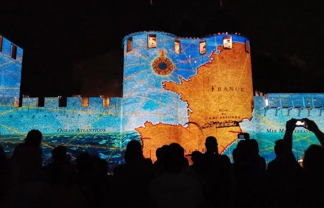 LA CITE DES PIERRES VIVANTES - SPECTACLE NOCTURNE 2 - Carcassonne