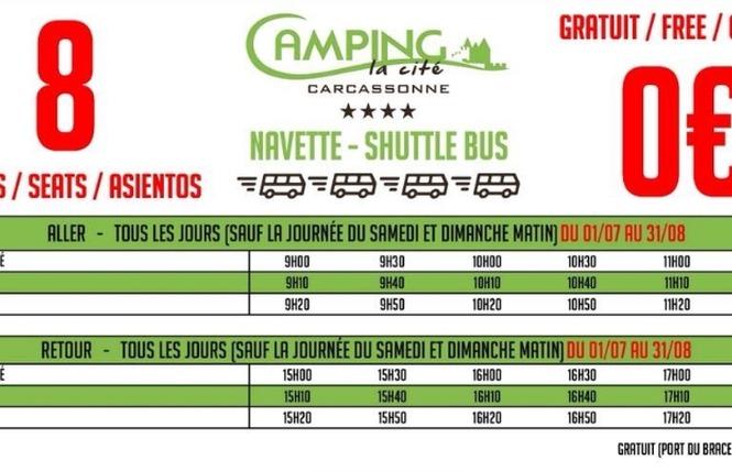 CAMPING DE LA CITÉ 11 - Carcassonne