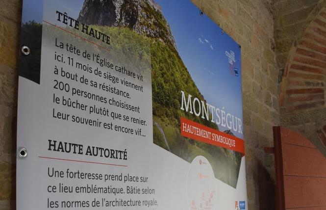EXPO - LA CITÉ DE CARCASSONNE ET SES CHATEAUX SENTINELLES DE MONTAGNE 6 - Carcassonne