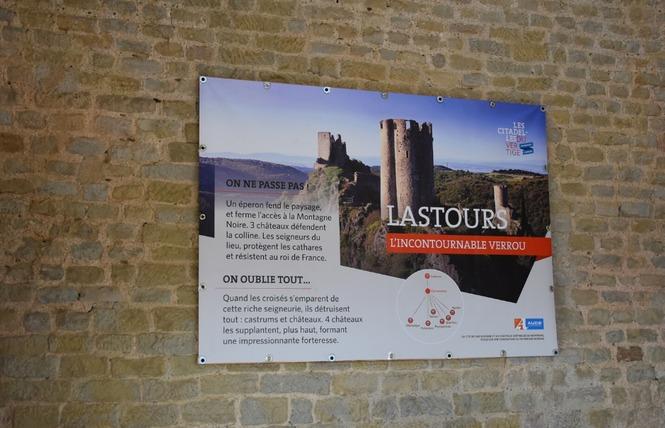 EXPO - LA CITÉ DE CARCASSONNE ET SES CHATEAUX SENTINELLES DE MONTAGNE 5 - Carcassonne