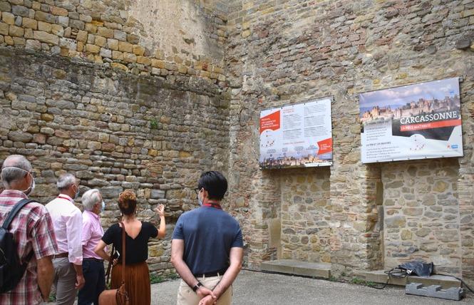EXPO - LA CITÉ DE CARCASSONNE ET SES CHATEAUX SENTINELLES DE MONTAGNE 2 - Carcassonne