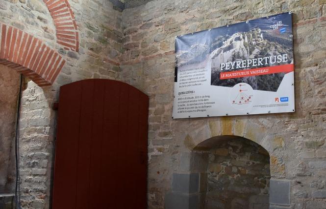 EXPO - LA CITÉ DE CARCASSONNE ET SES CHATEAUX SENTINELLES DE MONTAGNE 3 - Carcassonne