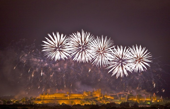 FEU D'ARTIFICE ET EMBRASEMENT DE LA CITE DU 14 JUILLET 5 - Carcassonne