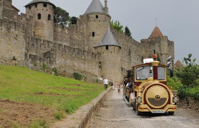 PETIT TRAIN DE LA CITE DE CARCASSONNE 1 - Carcassonne