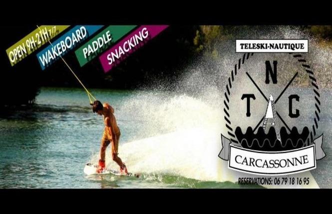 TELESKI NAUTIQUE 4 - Carcassonne