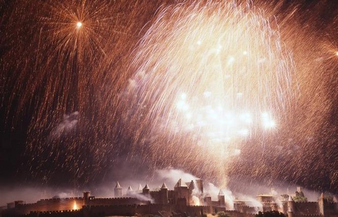 FEU D'ARTIFICE ET EMBRASEMENT DE LA CITE DU 14 JUILLET 2 - Carcassonne