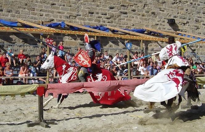 TOURNOIS DE CHEVALERIE 6 - Carcassonne