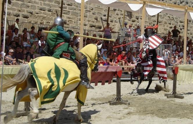 TOURNOIS DE CHEVALERIE 3 - Carcassonne