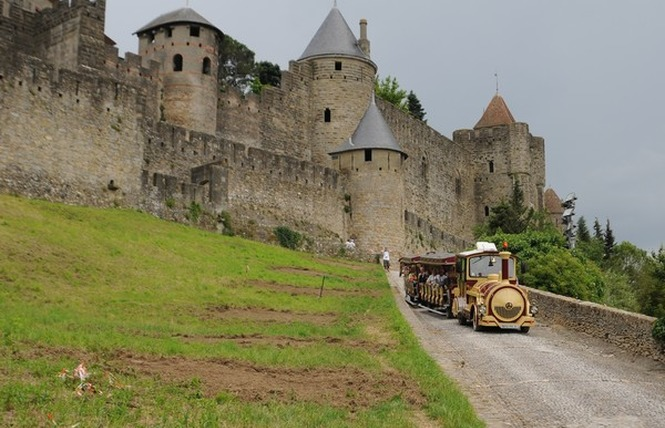 PETIT TRAIN DE LA CITE DE CARCASSONNE 3 - Carcassonne